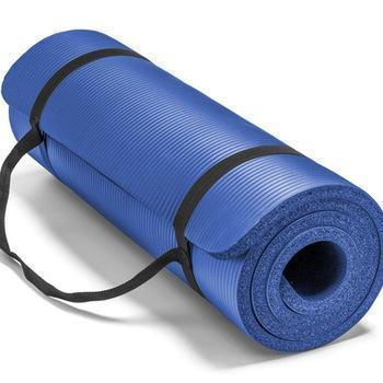 Exercise - TUZECH Fitness Non Slip High Density NBR Rubber Yoga Mat For Power Yoga/Pilates/Gymnastics