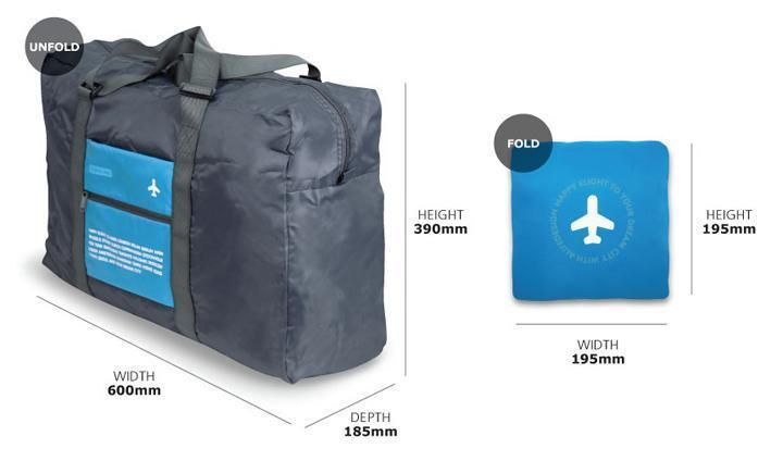 Folding Bag - Foldable In Flight Regular Shopping Smart Bag Organiser - Mini  To Big- 28a6331a0d