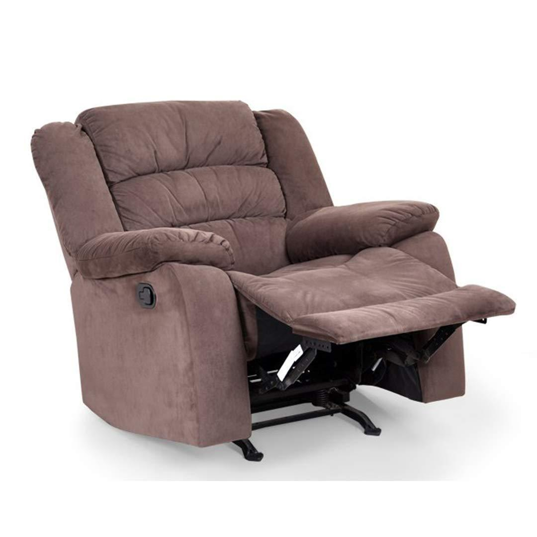 Furniture - Insignia Single Seater Rocking Recliner (Brown)