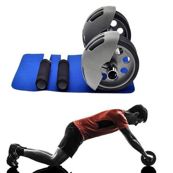 Tuzech Fitness Power Stretch Roller Ab Exerciser - The Immart  - 1