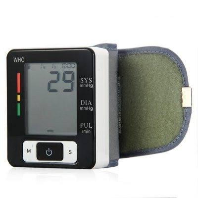 Health - Wrist Styled FDA Approved Blood Pressure And Heart Rate Monitor ( Screen And Memo)