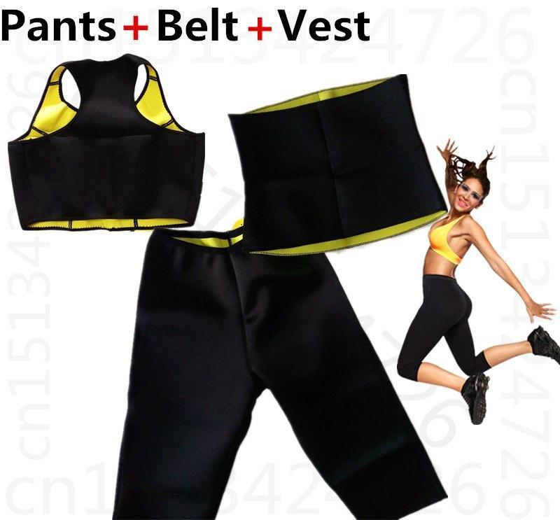 Hot Shaper Complete Set For Women  - Vests- Pants-Belt - The Immart  - 1
