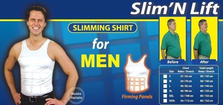 HOT SHAPER - Men Slimming And Shaper Vests For All Sizes