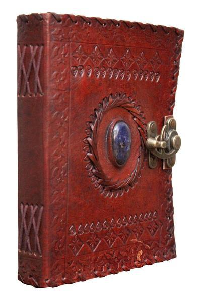 ININDIA Handmade 100% Pure Leather Diary For Office Home Daily Use With C Lock(All Colors)