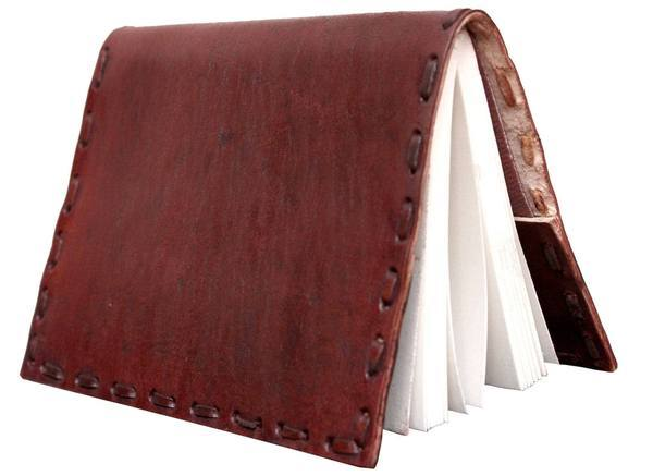 ININDIA Handmade 100% Pure Leather Diary for Office Home Daily Use Without C Lock (All colors) The Immart