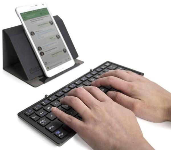 Tuzech Ultrathin Mini Bluetooth Keyboard  For All Mobile Phones - The Immart - 5