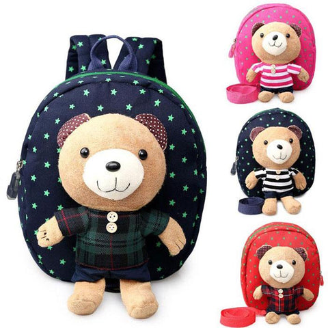 Kids Bag - Pindia Cute Bear Children Bag.