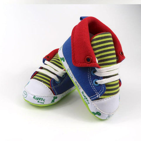 Kids Shoes - Pindia Anti-Slip Toddler Shoe Hi-Top Sneakers , Baby Shoes With Lase.