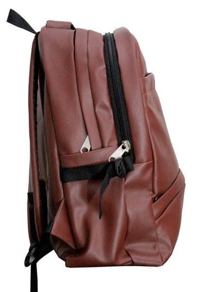 Leather - School/College Office PU Leather Backpack