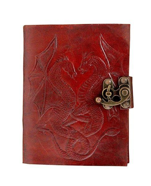 Leather - TUZECH Genuine Leather & Handmade Paper Diary Notebook Journal For Personal Use Or Gift Size 7X5