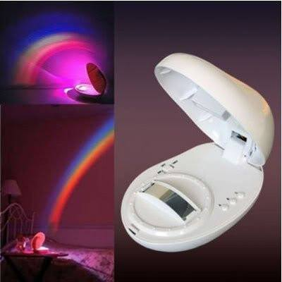 Tuzech Led Rainbow Night Lamp Decor ( Real Rainbow on Wall) ( Stress Reliever) - The Immart  - 1