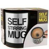 Tuzech Self Steering Mug With Battery Support And Button - The Immart