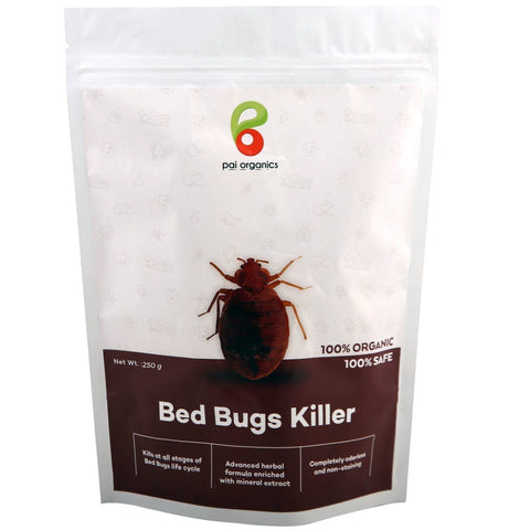 Organic - Bed Bug Killer | Certified Organic | Kills Bed Bug Naturally At All Stages Of It's Life Cycle
