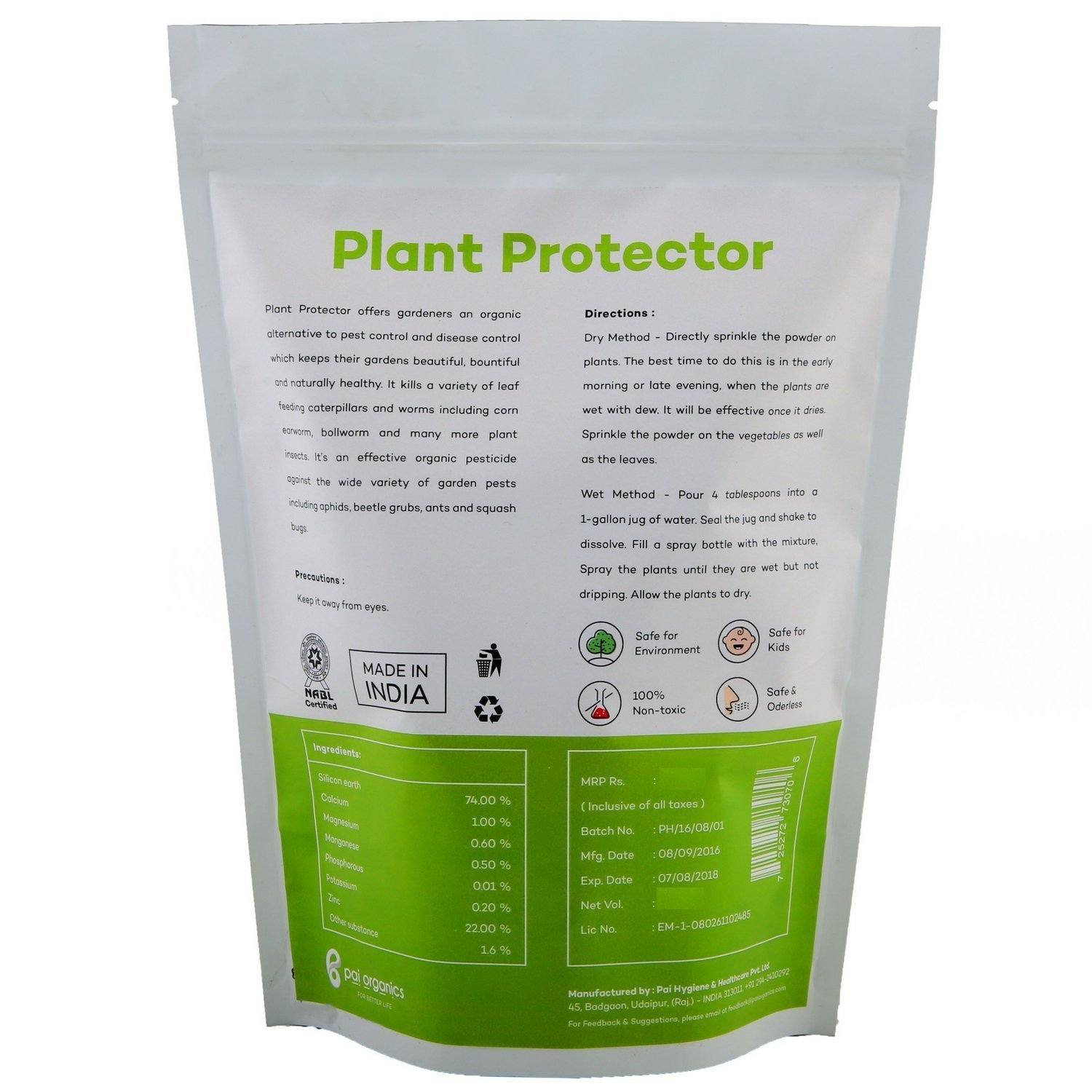 Organic - Plant Protector | Certified Organic | Protect Plants From Pest And Disease