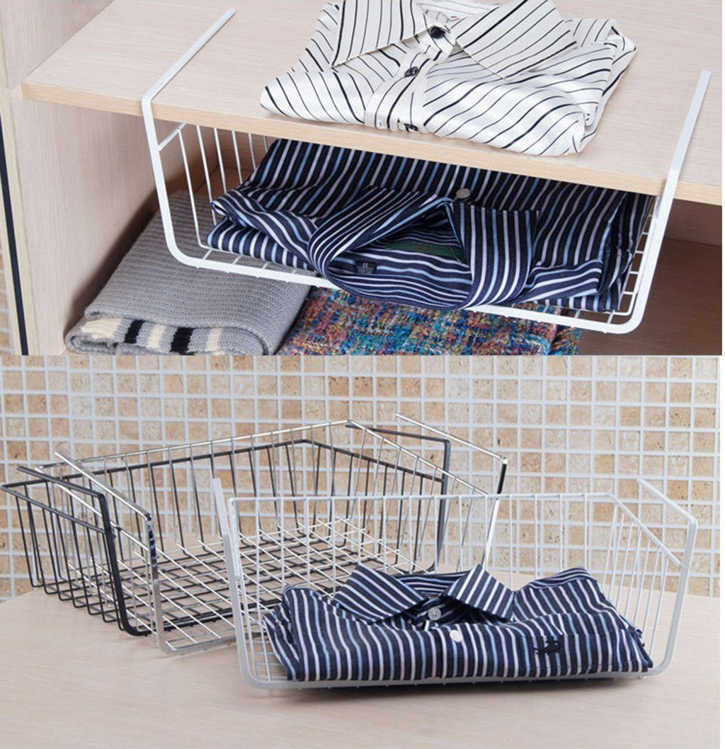 Organiser - Portable Wardrobe / Fridge / Rack Holder Organiser - Made Of Steel