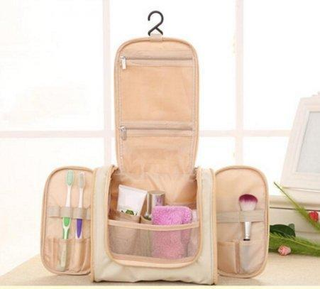 Organiser - Tuzech Military Cosmetic Polyester Toiletry Bag Travel Kit Pouch Triple Chain Organizer( Choose Colour Here)