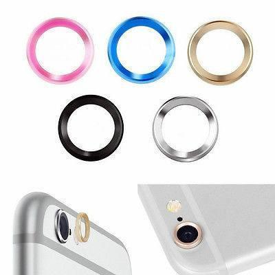 Apple iPhone Back Protective Lens Ring ( All Models,All Colours) The Immart