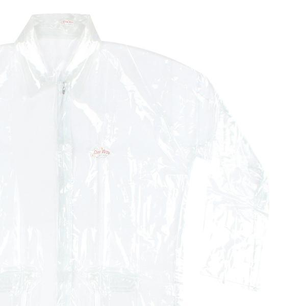 Tuzech Clear Transparent  Raincoat   ( Free Size )- For Men and Women - The Immart