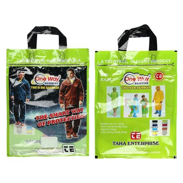 Tuzech Ladies Colourful Raincoat - 4 Colours - The Immart  - 2