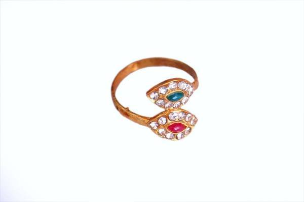 Ultra Lightweight Fashion Symbol Ring - The Immart  - 1