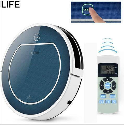 ILIFE V7S Robot Aspirador Complete ( Wet/Dry) Automatic Home Cleaning System With Remote - The Immart
