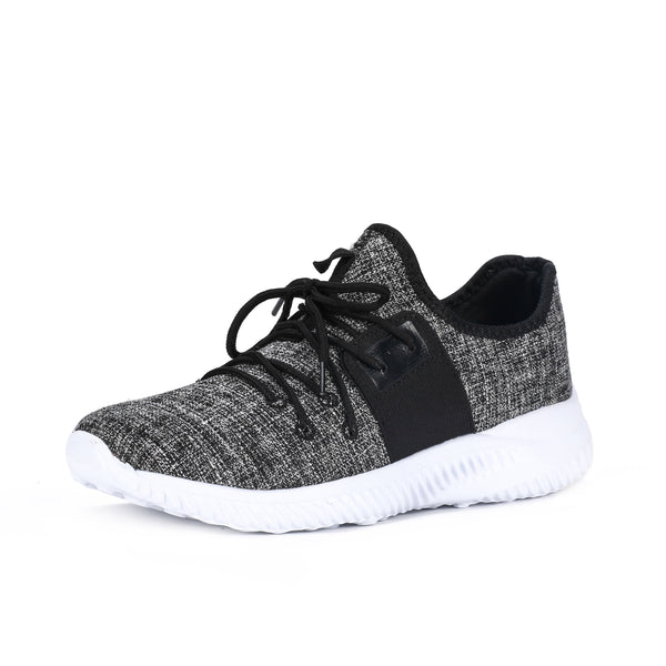 Shoe - Pindia Running Antiskid Shoes Knit Breathable Casual Sneakers