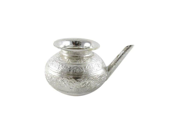 IN INDEA Silver Plated Nakshi Loti Zari set - The Immart
