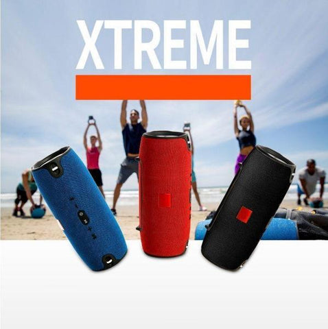 Speaker - Tuzech Xtreme Hard Rock Bluetooth Powerbank Speaker With Strap - Big Bass