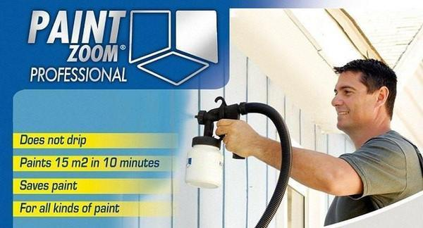 Tuzech Home Paint Zoom Automatic Sprayer - The Immart  - 1