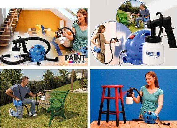 Sprayer - Tuzech Home Paint Zoom Automatic Sprayer