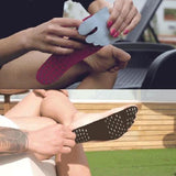 Stick On Foot Sole - TUZECH New Generation Stick-on Bare Foot Pads For Beach Swimming Spa Surfing Walking On Grass