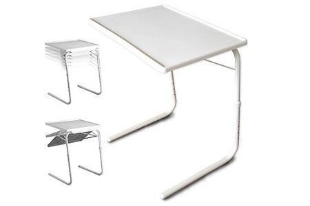 Table Mate 4 With Cup Holder ( Dinner Cum Laptop Table) - The Immart  - 4