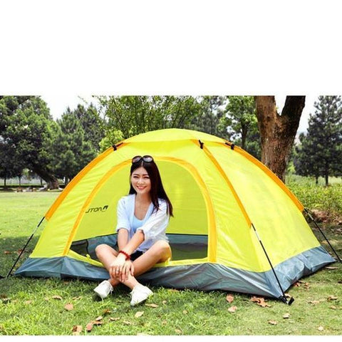 Tent - Waterproof UV Outdoor Hiking Tents 2 Person With Carrying Bag