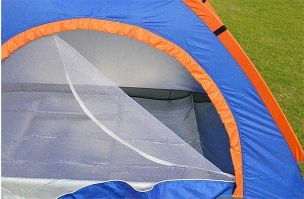 Tent - Waterproof UV Outdoor Hiking Tents 4 Person With Carrying Pouch