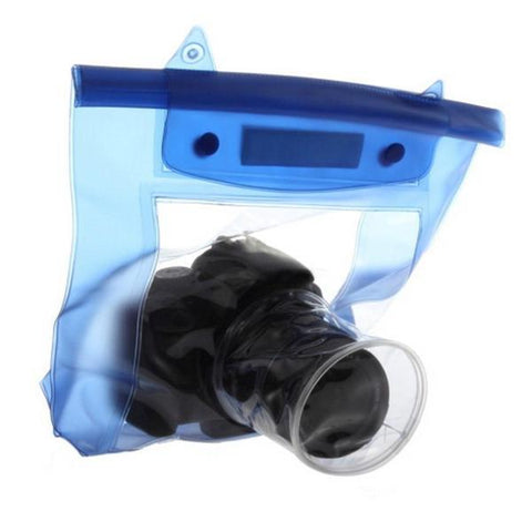 Tuzech Fully Waterproof Pouch For DSLRs (Universal - 80MM Lens)