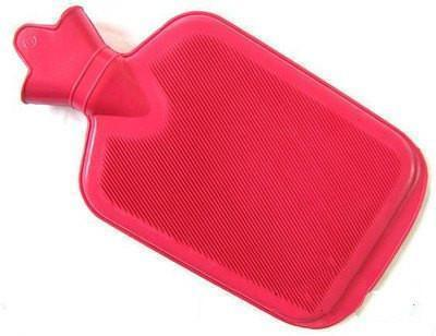 Tuzech Large Plain Non-electrical 0.5 L Hot Water Bag(Red)