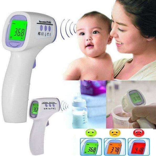 Tuzech Non Contact Infrared Thermometer  (White)