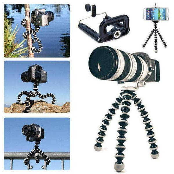 Universal Spider Tripod with Holder for All phones / Selfie sticks / DSLR - The Immart - 3