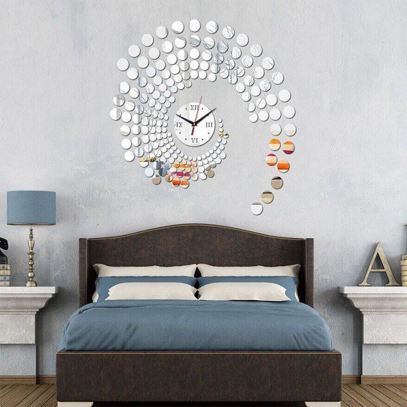 Luxurious Big wall Clock 3D Vinyl For Modern Look The Immart