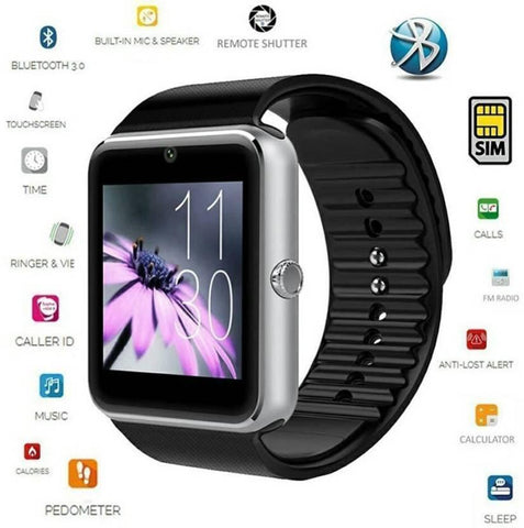 Watch - All In One Smartwatch With Sim Support - Platinum Edition