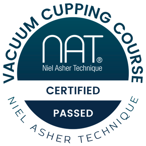 NAT Vacuum Cupping Course + Cupping Set (11 CEUs) – Niel Asher Education