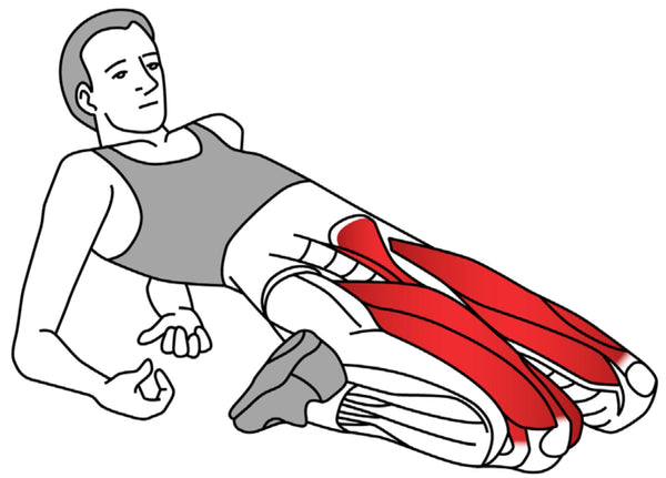 Quadriceps Trigger Point Stretch