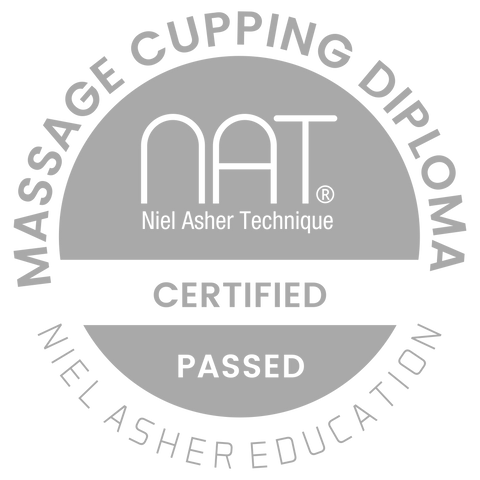 NAT Massage Cupping Diploma Badge