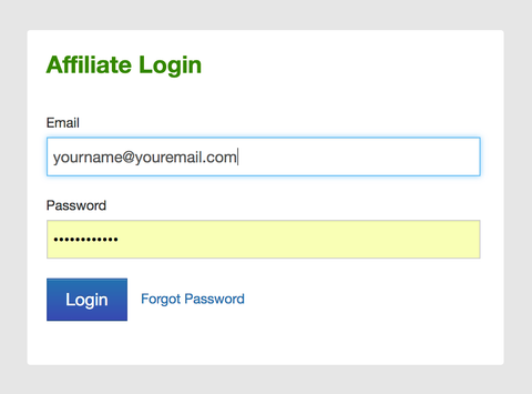 Team NAT Affiliate Login