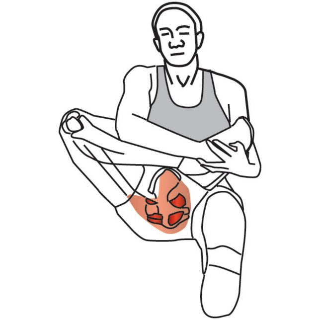 Trigger Point Therapy - Stretching for Piriformis Syndrome ...