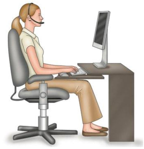 Trigger Point Therapy - Ideal Posture for the Workplace