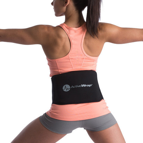 Back Ice/Heat Wrap by ActiveWrap® + Free NAT® Rehab Guide