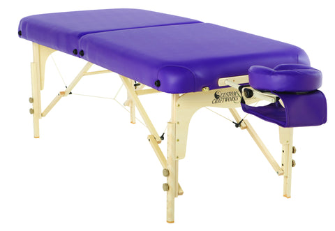 Wood Solutions Series - Adjustable Massage / Treatment Table