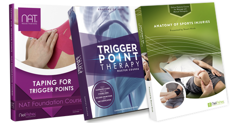Anatomy of Pain + Sports Injuries + Taping for Trigger Points (18.5 CEUs)