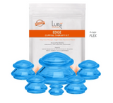 EDGE Flex (Soft) Silicone Cupping Set (4 or 6 Cups)